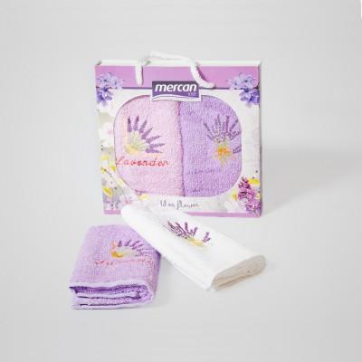 Kuchyňské ručníky 2-SET Mercan 30x50 LEVANDULE