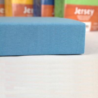 Prostěradlo JERSEY 70x140 dětské modré