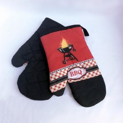 Chňapky BBQ 2-SET tmavé