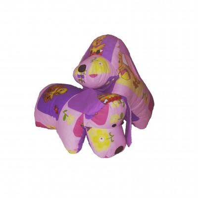 Zvířátko PEJSEK růžový / fialový