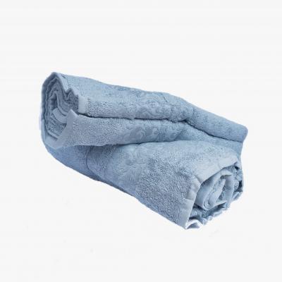 Osuška BAMBUS 70x140 modrá