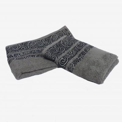 Ručník froté ORNAMENT 50x90 šedý