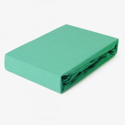 Prostěradlo JERSEY 100x200 smaragdové