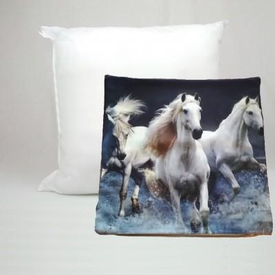 Dekorační polštář AMADA foto 42x42 koně