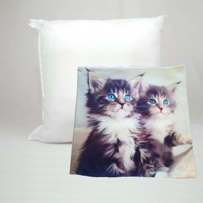 Dekorační polštář AMADA foto 42x42 koťata