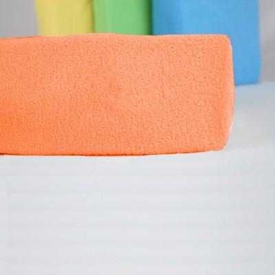 Prostěradlo FROTÉ 70x140 dětské oranžové