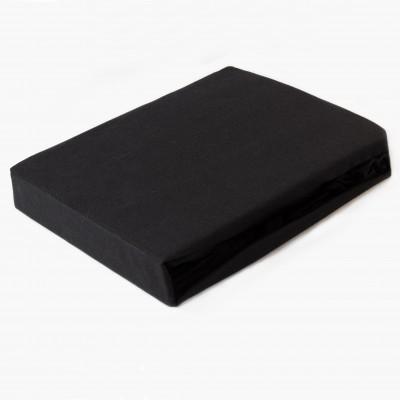 Prostěradlo JERSEY 100x200 černé